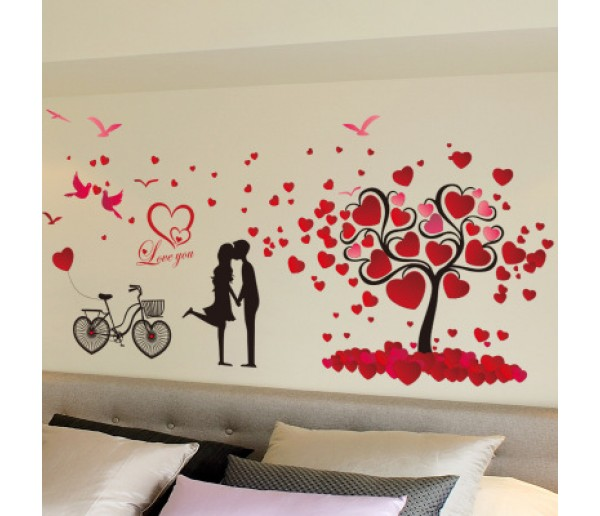 Wall Decals: Heart Wall Decals HM78151