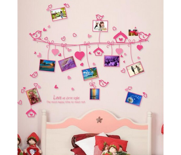 Wall Decals Photo Frame Wall Decals HM89047