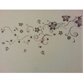 Floral Wall Decals HM90069