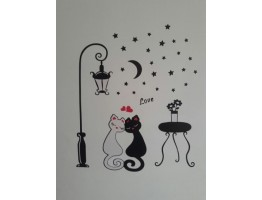 Cats Wall Decals HM90099