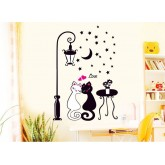 Wall Decals Cats Wall Decals HM90099