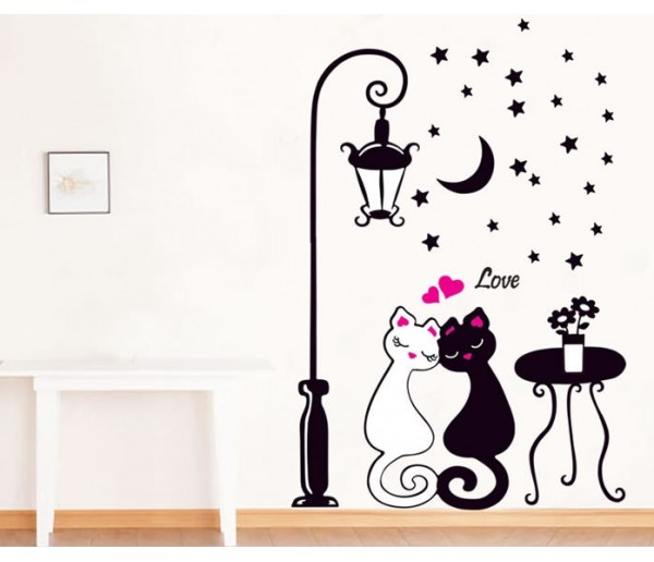 Wall Decals: Cats Wall Decals HM90099