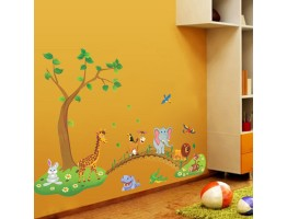 Animals Cartoon Wall Decals HMA1041