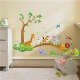 Wall Decals Animals Cartoon Wall Decals HMA1041