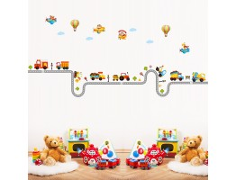Traffic Vehivles Wall Decals HMA1046