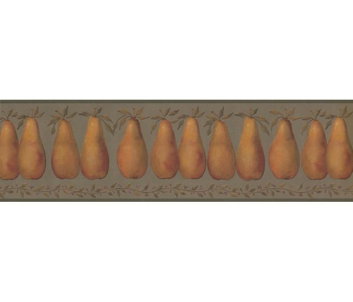 Garden Wallpaper Borders: Fruits Wallpaper Border 3053 HS 7