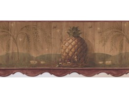 Prepasted Wallpaper Borders - Kitchen Wall Paper Border 3091 HS