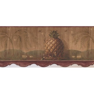 10 1/4 in x 15 ft Prepasted Wallpaper Borders - Kitchen Wall Paper Border 3091 HS
