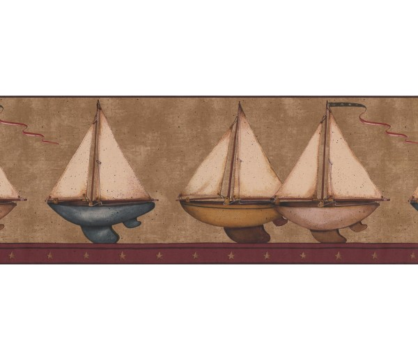 Sea World Borders Ships Wallpaper Border 3122 HS