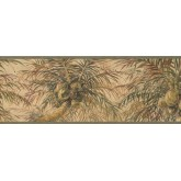 Garden Wallpaper Borders: Tree Wallpaper Border 6011 HV