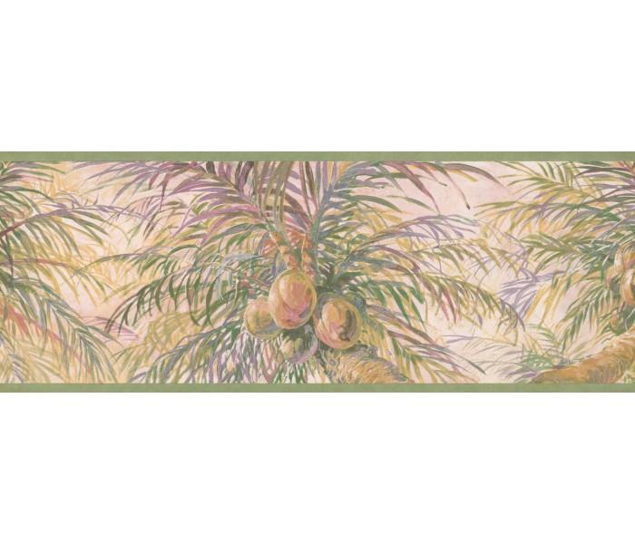 Garden Wallpaper Borders: Tree Wallpaper Border 6014 HV