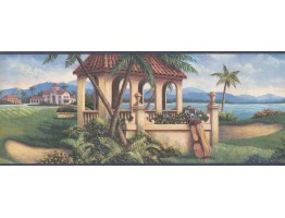 Country Wallpaper Border 6031 HV