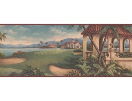 Country Wallpaper Border 6032 HV