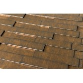 Wall Panels: Wall Panel Piano - Decorative Thermoplastic Tile 24x24 - Gold Thread