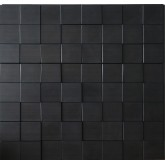 Wall Panels: Wall Panel Harmony Cubes - Decorative Thermoplastic Tile 24x24 - Dark Okasha