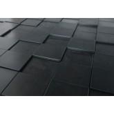 Wall Panels Wall Panel Harmony Cubes - Decorative Thermoplastic Tile 24x24 - Dark Okasha