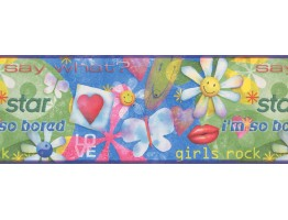 Prepasted Wallpaper Borders - Kids Wall Paper Border 4001 ISB