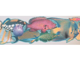 Fish Wallpaper Border 4042 ISB