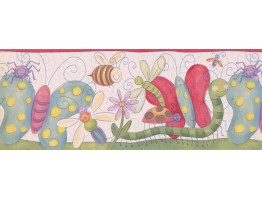 Prepasted Wallpaper Borders - Kids Wall Paper Border 4111 ISB
