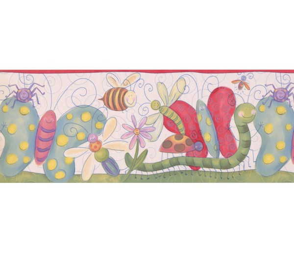 Nursery Wallpaper Borders: Kids Wallpaper Border 4111 ISB