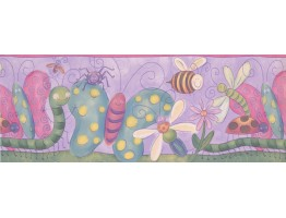 Prepasted Wallpaper Borders - Kids Wall Paper Border 4114 ISB