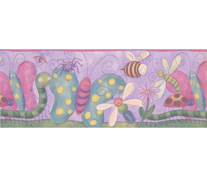 Nursery Wallpaper Borders: Kids Wallpaper Border 4114 ISB