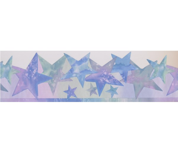 Sun Moon Stars Borders Stars Wallpaper Border 4152 ISB York Wallcoverings