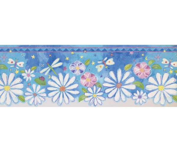 Prepasted Wallpaper Borders - Kids Wall Paper Border 4172 ISB