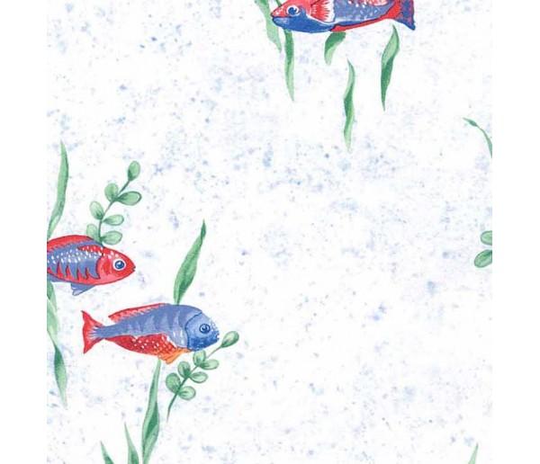 Animals Fish Wallpaper JFM2869 Chesapeake Wallcoverings