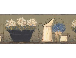 Kitchen Wallpaper Border 1744 JN
