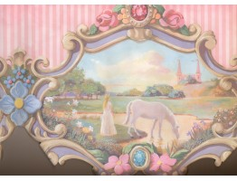 20 in x 15 ft Prepasted Wallpaper Borders - Horse Wall Paper Border 6216 JV