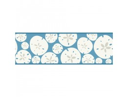 Prepasted Wallpaper Borders - KB8545B Sand Dollar Wall Paper Border