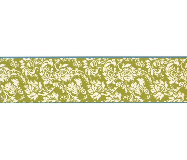 Clearance: Floral Wallpaper Border KB8561