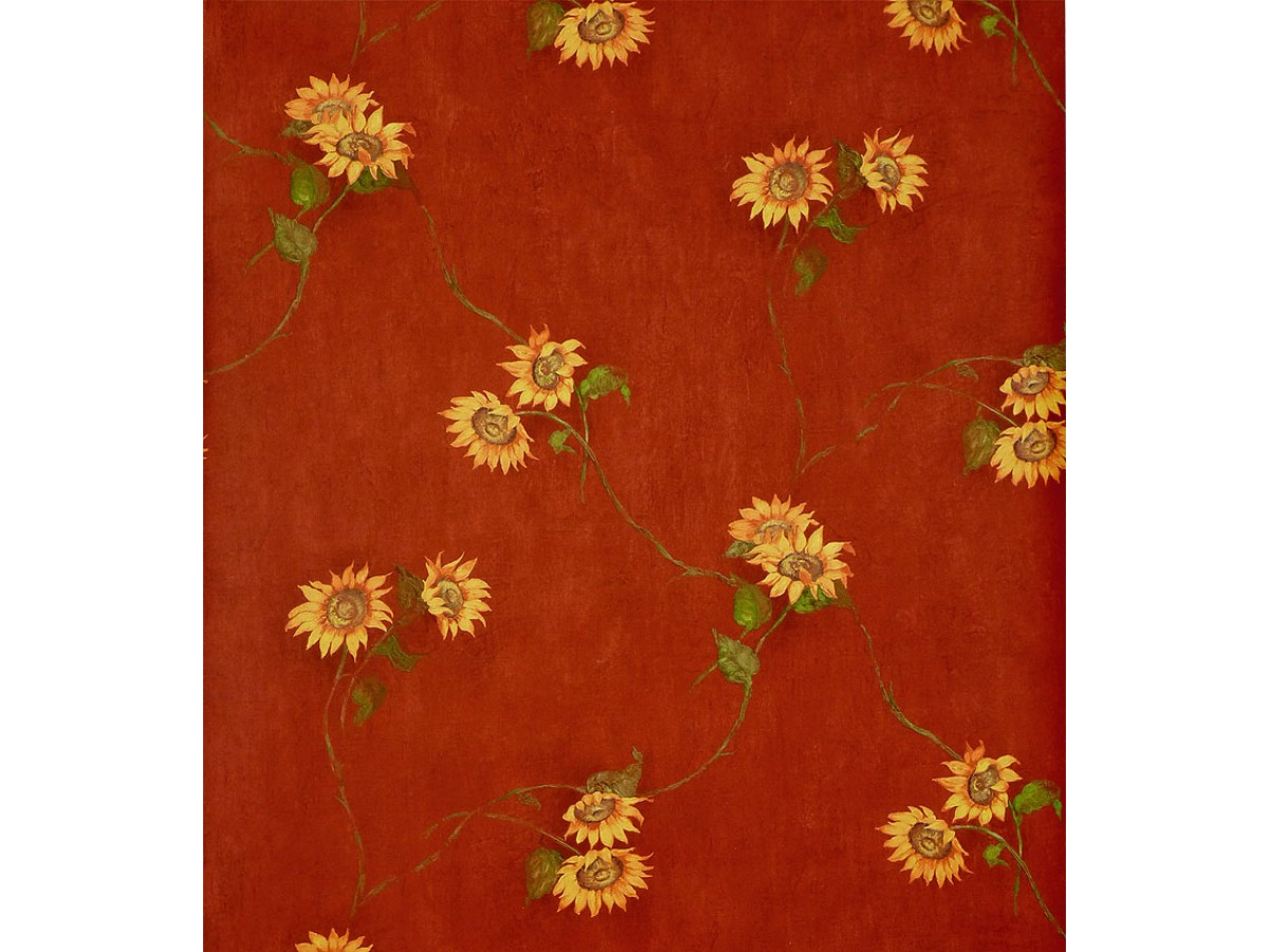Sunflowers Wallpaper Kc18554