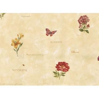 Floral Wallpaper KC429