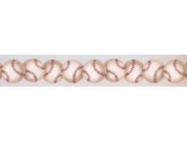 Baseballs Wallpaper Border 0472 KD