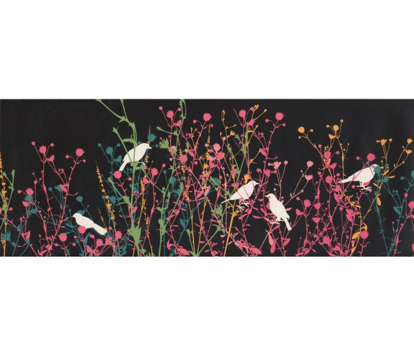 Birds Birds Wallpaper Border KP1593B
