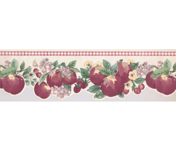 Garden Borders Apple Wallpaper Border 2279 KR