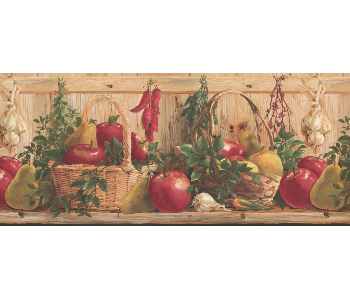 Kitchen Wallpaper Borders: Kitchen Wallpaper Border 2322 KR