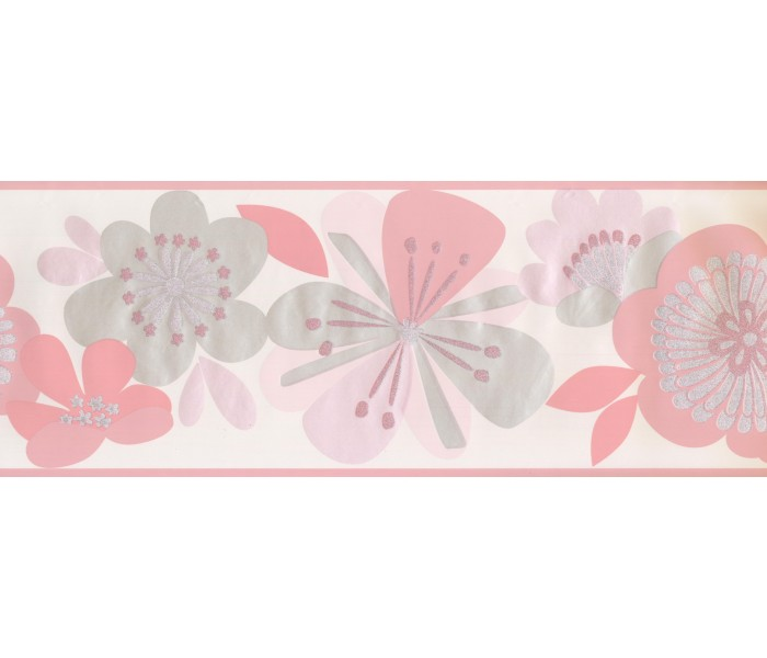 Floral Wallpaper Borders: Floral Wallpaper Border 2226 KS