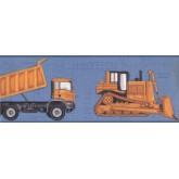 Boys Vehicles Wallpaper Border 2346 KS York Wallcoverings