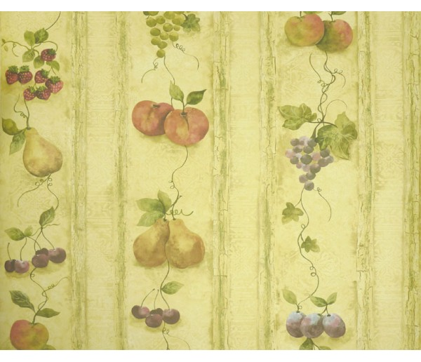 Fruits Fruits Wallpaper KS24882 S.A.MAXWELL CO.