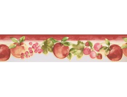 Apple and Grapes Wallpaper Border KT77908DC