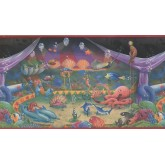 Sea World Wall Borders: Sea World Wallpaper Border 1063 KZ