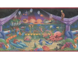 Sea World Wallpaper Border 1063 KZ