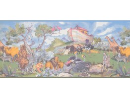 Prepasted Wallpaper Borders - Animals Wall Paper Border 1221 KZ