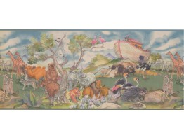 Prepasted Wallpaper Borders - Animals Wall Paper Border 1222 KZ