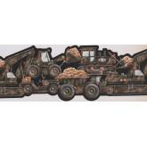 Boys Vehicles Wallpaper Border 1243 KZ York Wallcoverings