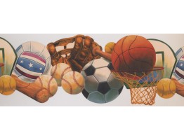 Sports Wallpaper Border 1252 KZ