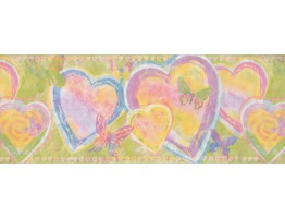 Heart Wallpaper Border 1291 KZ